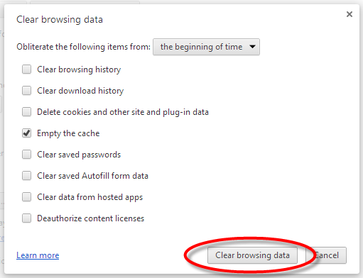 how to delete google chrome autocomplete mac