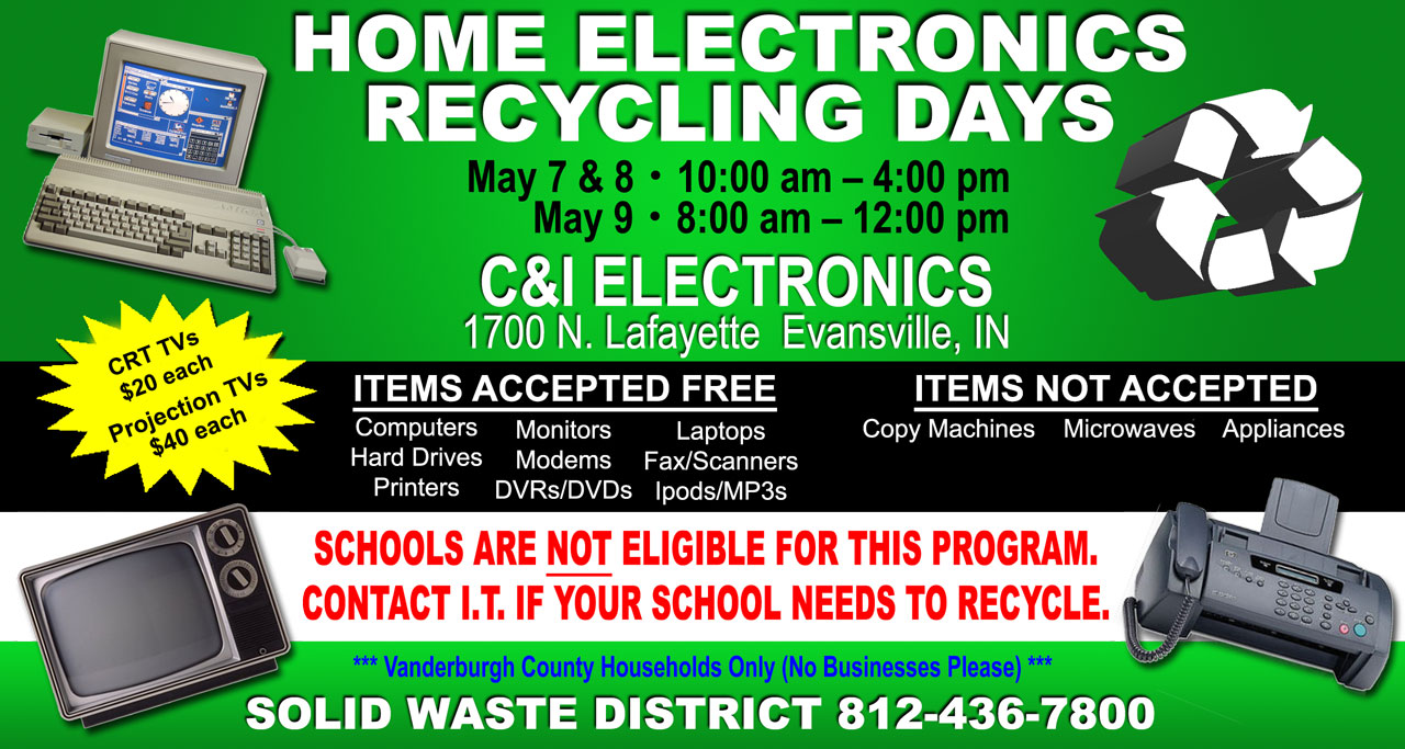 recycling electronics The following facilities are available for city of houston residents to recycle household electronics: interactive map detailing locations of neighborhood depositories / recycling centers and other recycling facilities in the city of houston.
