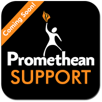 promethean support page button