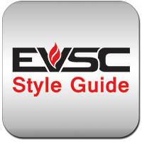 EVSC Style Guide