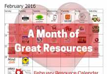 A Month of Great Resources- Feb
