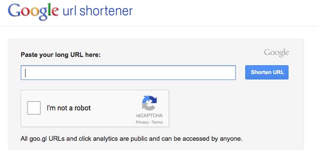 googl shortener
