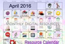 Monthly Digital Resources-April16