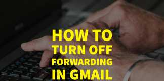 How to turn off forwarding in Gmail - featured image